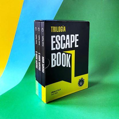 Imagen de ESTUCHE TRILOGIA ESCAPE BOOK