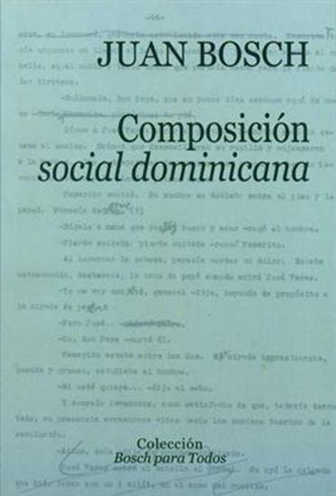 Imagen de COMPOSICION SOCIAL DOMINICANA
