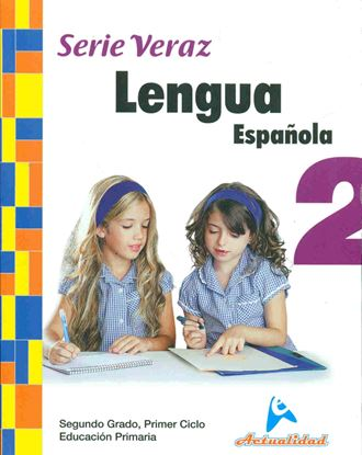 Imagen de LENGUA ESPAÑOLA SERIE VERAZ 2 (B)