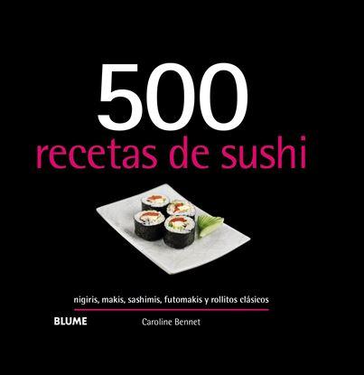 Imagen de 500 RECETAS DE SUSHI (2019)