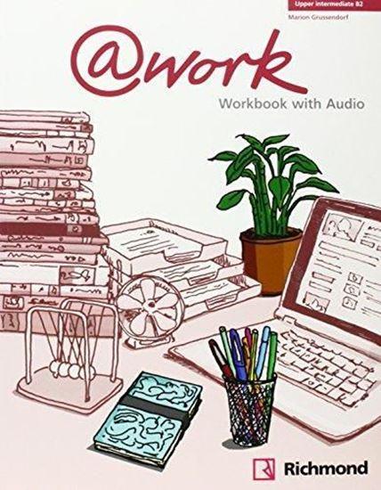 Imagen de @WORK 4 WORKBOOK + CD  B2