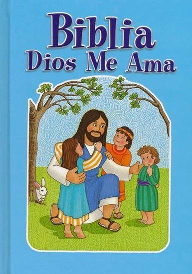 Imagen de BIBLIA DIOS MIOS ME AMA (AZUL) TD