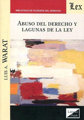 Imagen de ABUSO DEL DERECHO Y LAGUNAS DE LA LEY