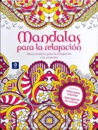 Imagen de MANDALAS PARA LA RELACION (LATA+COLORES)