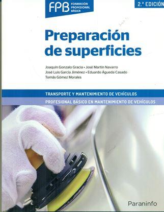 Imagen de PREPARACION DE SUPERFICIES
