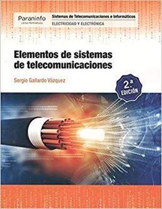 Imagen de ELEMENTOS DE SISTEMAS DE TELECOMUNICACIO