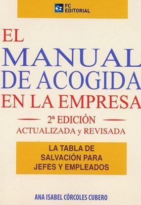 Imagen de EL MANUAL DE ACOGIDA EN LA EMPRESA