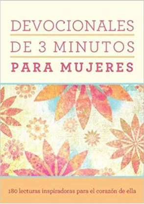 Imagen de DEVOCIONALES DE 3 MINUTOS PARA MUJERES
