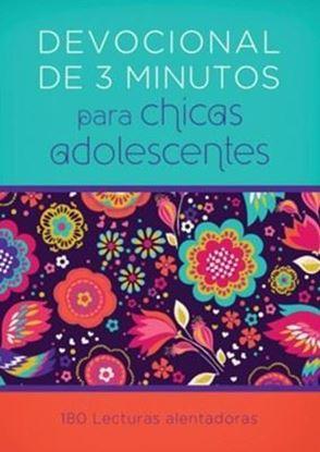 Imagen de DEVOCIONALES DE 3 MINUTOS PARA CHICAS AD