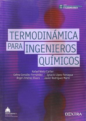 Imagen de TERMODINAMICA PARA INGENIEROS QUIMICOS