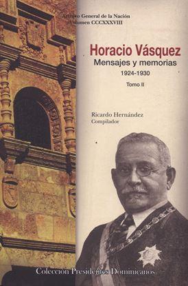 Imagen de HORACIO VASQUEZ. MENSAJES Y M. TOMO II.