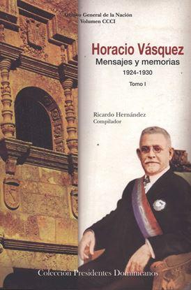 Imagen de HORACIO VASQUEZ. MENSAJES Y MEMORIAS T.I
