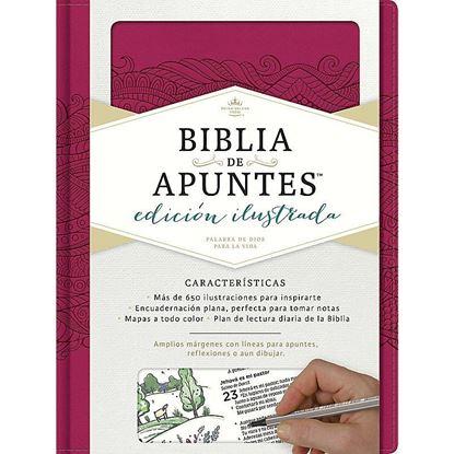 Imagen de BIBLIA DE APUNTES. EDIC. ILUSTRADA (ROSA