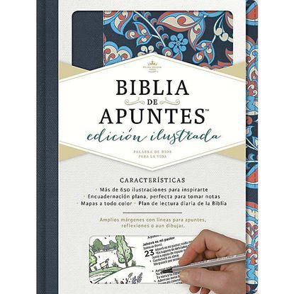 Imagen de BIBLIA DE APUNTES. EDIC. ILUS.(AZUL/ROSA