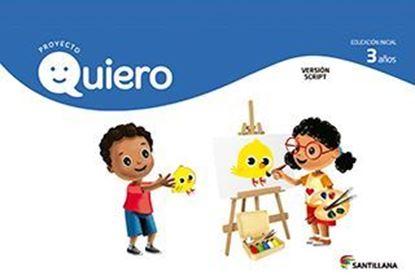 Imagen de CARPETA QUIERO 3 AÑOS SCRIPT