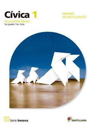 Imagen de EDUCACION CIVICA 1 MEDIA SERIE INNOVA