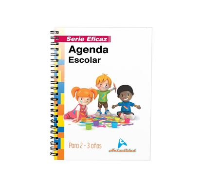 Imagen de AGENDA ESCOLAR DE 2 Y 3 AÑOS