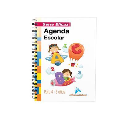 Imagen de AGENDA ESCOLAR DE 4 Y 5 AÑOS