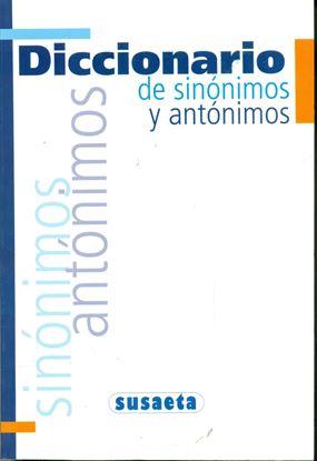 Imagen de DICCIONARIOS DE SINONIMOS Y ANTONIMOS
