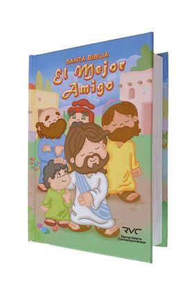 Imagen de BIBLIA DE NIÑOS EL MEJOR AMIGO (RVC)