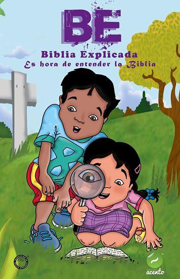 Imagen de BE BIBLIA DE NIÑOS EXPLICADA