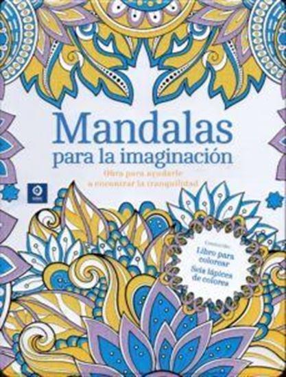 Imagen de MANDALAS PARA LA IMAGINACION (LATA+COLOR