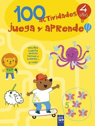 Imagen de 100 ACTIVIDADES JUEGA Y APRENDE 4 AÑOS