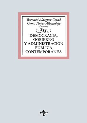 Imagen de DEMOCRACIA, GOBIERNO Y ADMINISTRACION PU