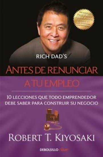 Imagen de ANTES DE RENUNCIAR A TU EMPLEO (BOL)