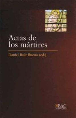 Imagen de ACTAS DE LOS MARTIRES