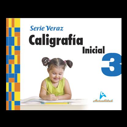 Imagen de CALIGRAFIA INICIAL S/VERAZ 3 (ACTUALIZA