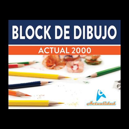 Imagen de BLOCK DE DIBUJO ACT. 2000 SERIE VERAZ