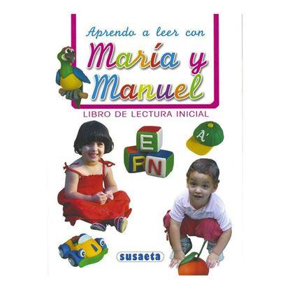 Imagen de APRENDO A LEER CON MARIA Y MANUEL