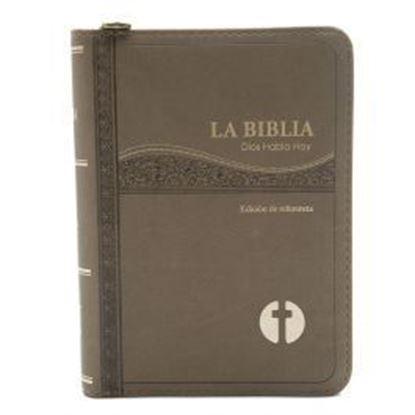 Imagen de BIBLIA DIOS HABLA HOY CON CIERRE CAFE
